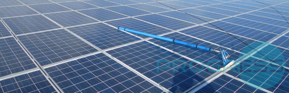 Clean Progress est une entreprise d'entretien de panneau solaire